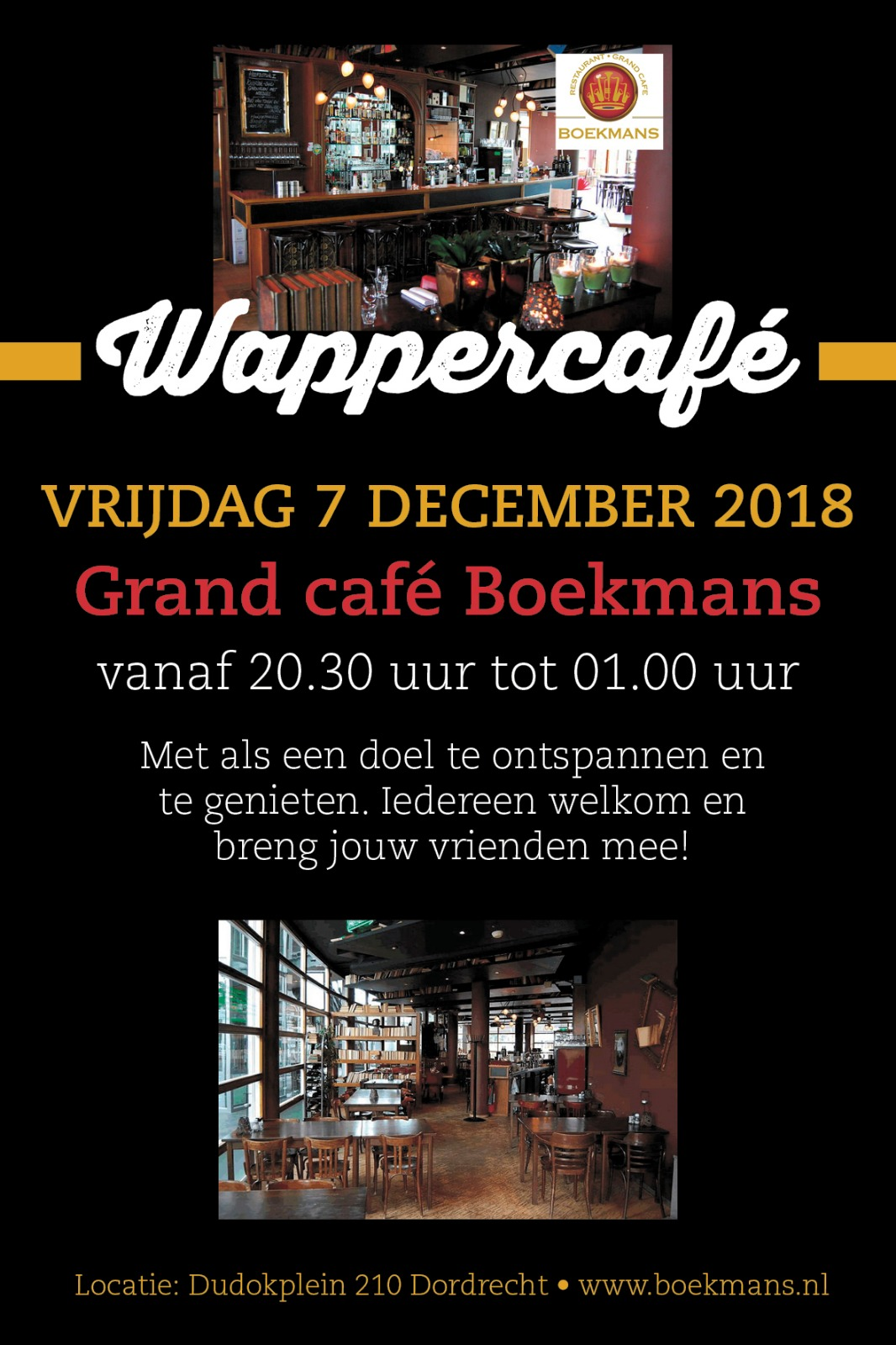 Wappercafe 7 december 2018